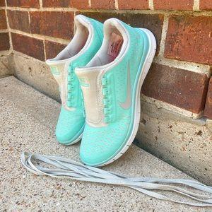 Nike Free Run 3.0 V4 Tropical Twist (Tiffany Blue)